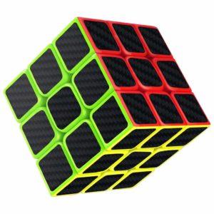 TAOUN Cubo Specchio 3x3, Gioco Puzzle 3D, Design Regolabile a Molla, Adesivo in Fibra di Carbonio cubo Magico Liscio, Versione aggiornata, 5,7 cm