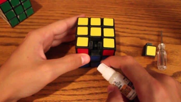 Lubrificante per Cubi Di Rubik