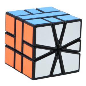 Maomaoyu Square 1 Cube, velocità Square One Cube, Cubo Magico, Regali di Natale per Adulti e Bambini(Nero)