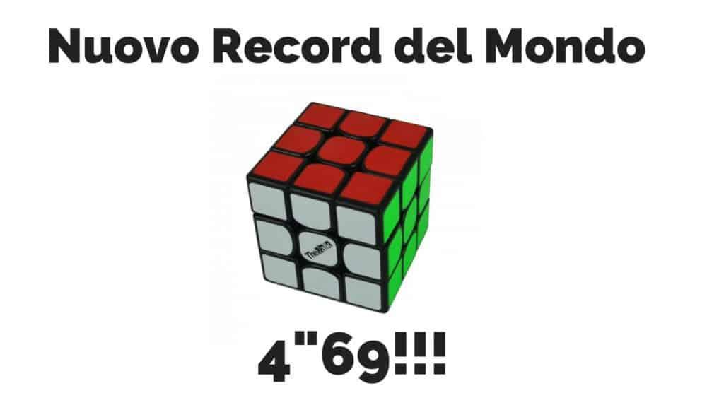 Record del mondo 3x3