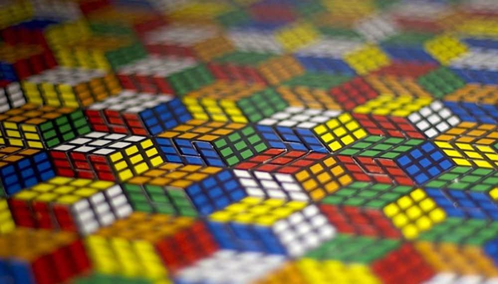 Combinazioni possibili del Cubo Di Rubik 3x3