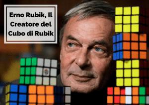 Erno sapeva come risolvere il cubo di rubik in 20 mosse