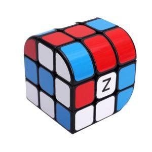 EasyGame - Penrose Cube 333 Black Magic Cube Puzzle giocattolo per bambini, Roma Cube